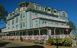 the mansion- pet friendly hotel in marthas vineyard