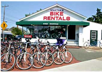rent bikes in marthas vineyard